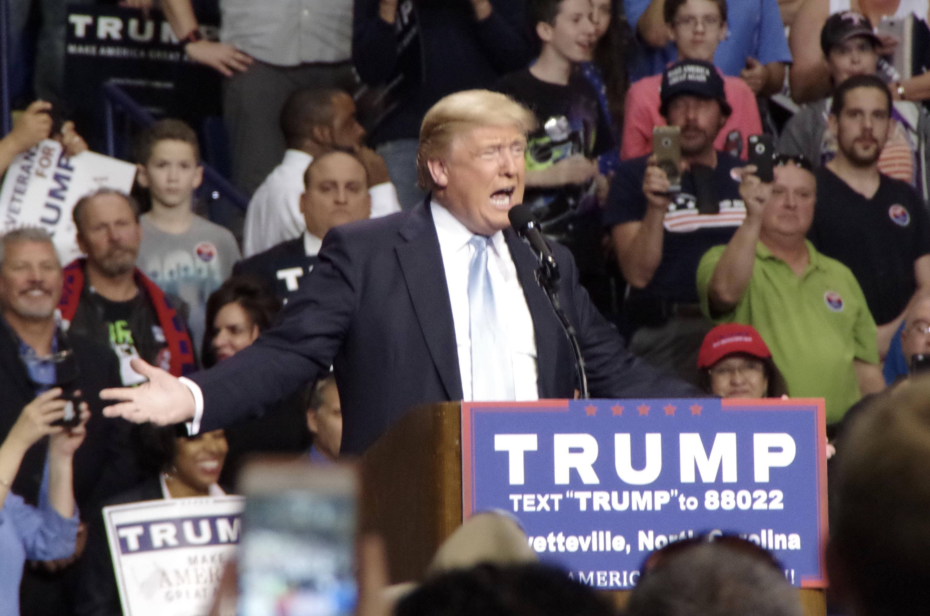 Trump in Fayetteville